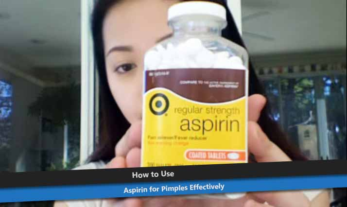 Aspirin for Pimples