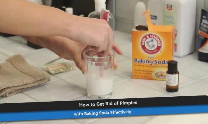 Baking Soda for Pimples